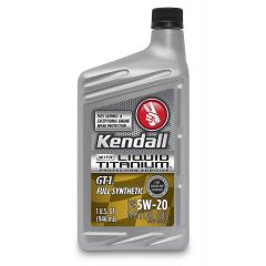 Kendall GT-1 Motor Oil 5W-20 with Liquid Titanium
