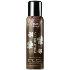 Keratherapy Keratin Infused Perfect Match Gray Root Light Brown Concealer
