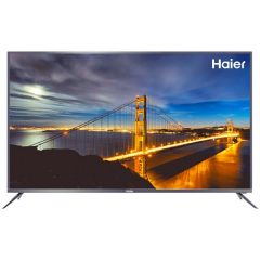 Haier 65 inch Smart TV, Built-in Receiver, 4K, Quadro Processor, Licensed Android, 8G Memory