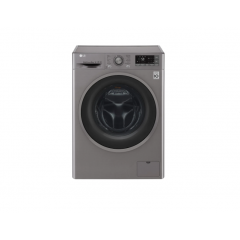 LG Front Load Washer 9kg,1400 RPM, Direct Drive Motor, 6 Motion, TurboWash , Silver Color