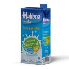 Halibna Skimmed Milk 1 liter pack (4 pieces)