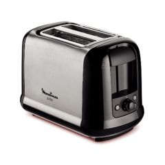 Moulinex subito LT260811Stainless Steel Toaster, Defrost and Reheat Function, 850W