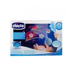 Chicco First Dreams Magic Stars Cot Mobile - Blue