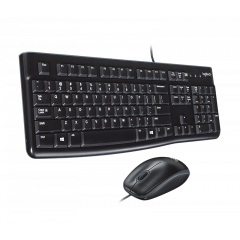 Logitech MK120 Keyboard and Mouse Wired Combo