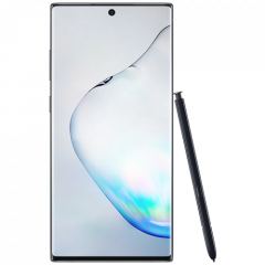 Samsung Galaxy Note 10 Plus, 6.8-Inch Display, 256 GB, 12GB RAM, Dual SIM, 4G, Aura Black