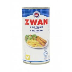 Zwan 6 Big Franks Chicken Sausages 300g