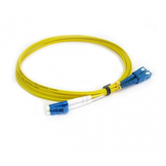 D-Link NCB-FS09D-LCSC-1 Single Mode Duplex Optic Fiber Patch Cord Optical, 1 Meter