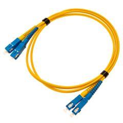D-Link NCB-FS09D-SCSC-1 Single Mode Duplex Optic Fiber Patch Cord Optical, 1 Meter