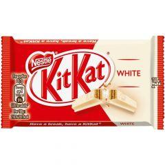 KIT KAT 4 FINGER WHITE 41.5 gr