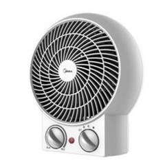 Midea NF20-16BAW White Fan Heater, 2 Heat Settings, 2000W