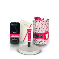 "Novexpert Gift set ""Serum booster with hyaluronic acid 30ml + lip balm Lip Up 8ml"""