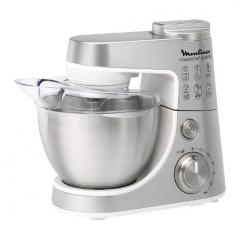Moulinex QA408D25 Master Chef Gourmet Food Processor, 900W, 4 Liter Bowl,1.5 Liter Blender Attachment