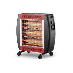 Matex QH-1920 Electric Heater, 5 Heating Elements, Thermostat, 2000 Watt