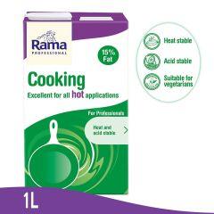RAMA Professional Cooking Cream 15% Fat, 1L