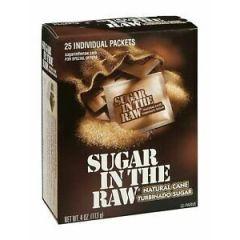 Sugar in the Raw Turbinado Cane Sugar 25 Packets 113 gm