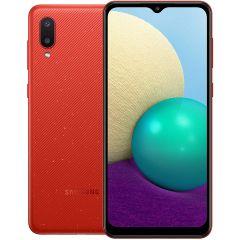 Samsung Galaxy A02 Dual SIM, 64GB 3GB RAM LTE, Red