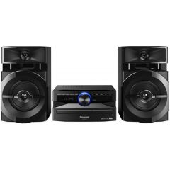 Panasonic SC-UX100GS-K Home Mini Stereo System, 300w RMS, Black