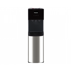 P Panasonic Bottom Loading Water Dispenser SDM-WD3438B Water Dispenser, 3 Taps, Black