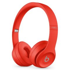 Beats Solo 3 Wireless On-Ear Headphone, Red
