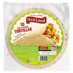 Newland 10 Flour Tortillas 8 Inches
