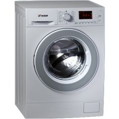 ITWash washing machine 10.5 kg 1400 cycle silver color