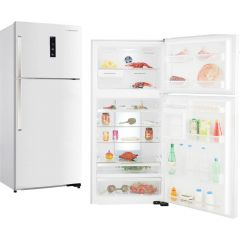 Westpoint 505L No Frost Two doors Refrigerator -Colour. Stainless Steel