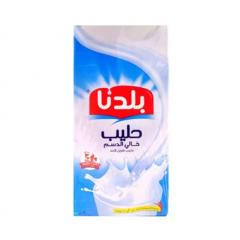 Baladna Skimmed Milk Long Life 1 Ltr